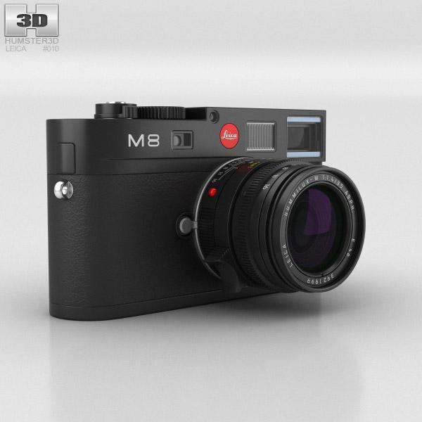 Leica M8 Black 3D model