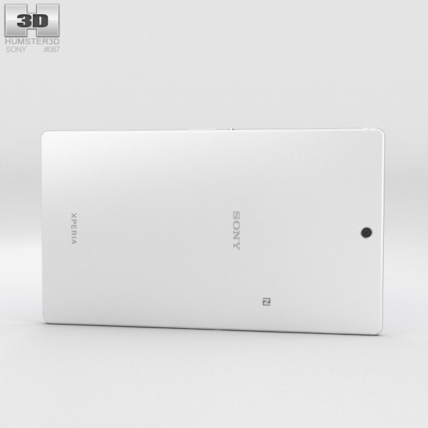 Sony Xperia Z3 Tablet Compact White 3d model