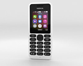 3D model of Nokia 130 White