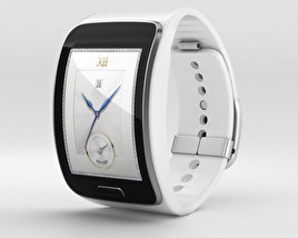 3D model of Samsung Gear S White