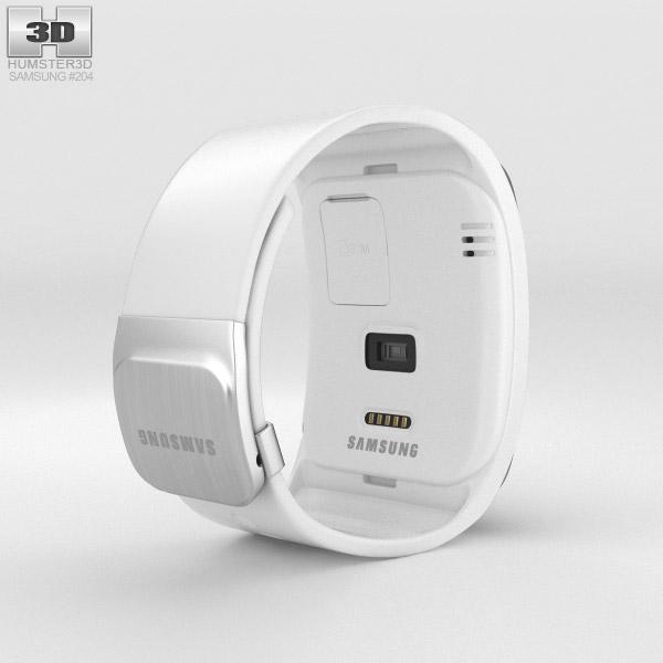 Samsung Gear S White 3d model
