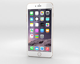 3D model of Apple iPhone 6 Plus Gold
