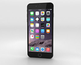 Apple iPhone 6 Plus Space Gray 3D model