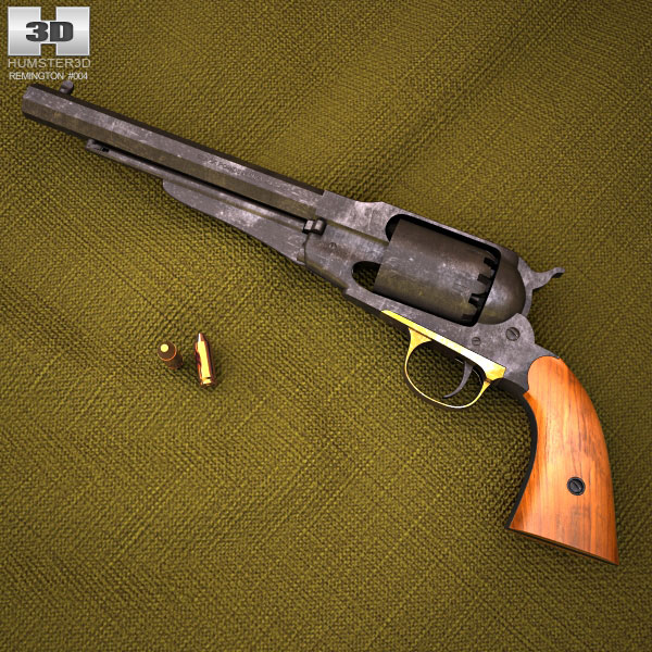 3D model of Remington Model 1858
