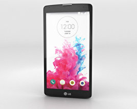 3D model of LG G Vista Metallic Black