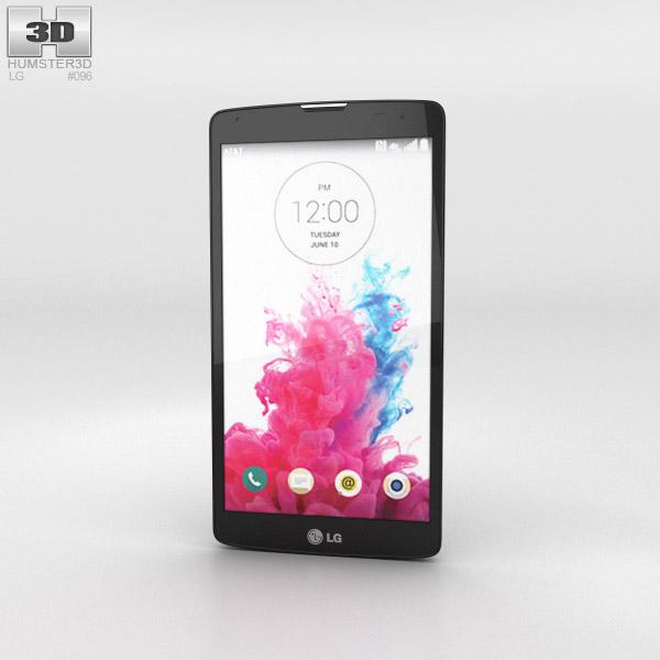 LG G Vista Metallic Black 3d model