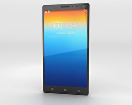 3D model of Lenovo Vibe Z2 Pro Titanium