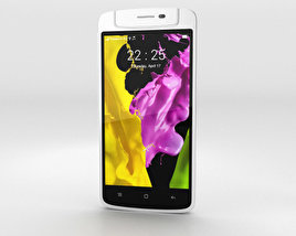 3D model of Oppo N1 mini White