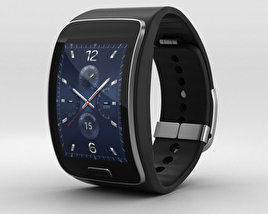 3D model of Samsung Gear S Black