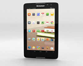3D model of Lenovo Tab A8 White