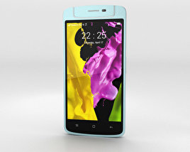 3D model of Oppo N1 mini Light Blue