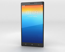 3D model of Lenovo Vibe Z2 Pro Black