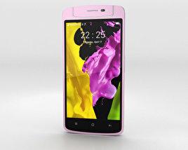 3D model of Oppo N1 mini Pink