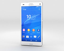 3D model of Sony Xperia Z3 Compact White