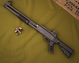 3D model of FN TPS