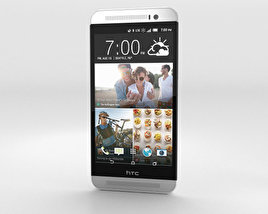 3D model of HTC One (E8) CDMA Polar White