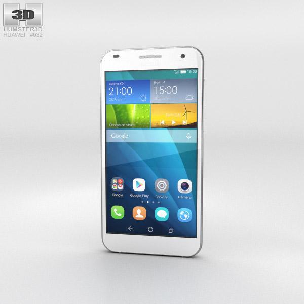 Huawei Ascend G7 White 3d model