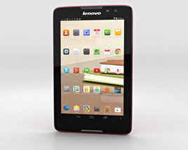Lenovo Tab A8 Red 3D model