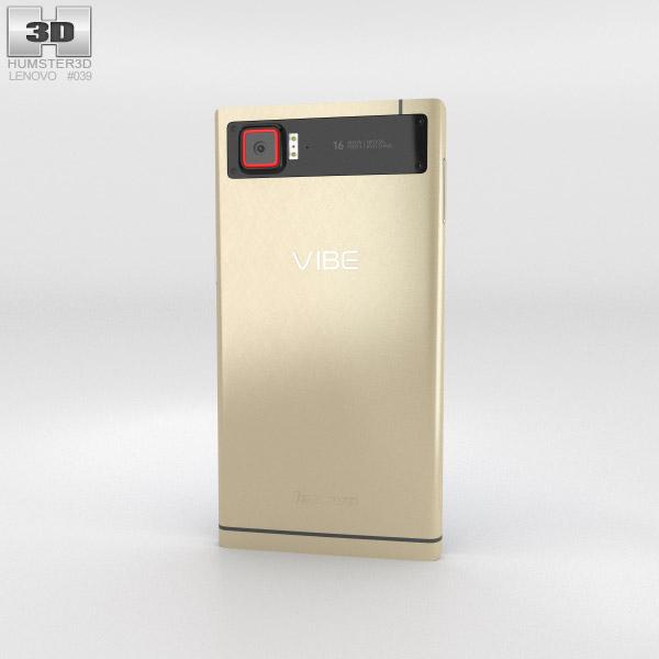 Lenovo Vibe Z2 Pro Gold 3d model
