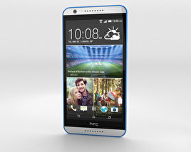 3D model of HTC Desire 820 Santorini White