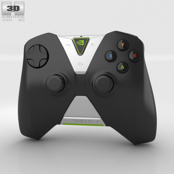 3D model of Nvidia Shield Wireless Controller