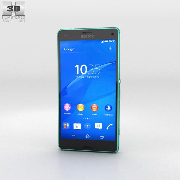 Sony Xperia Z3 Compact Green Modèle 3d
