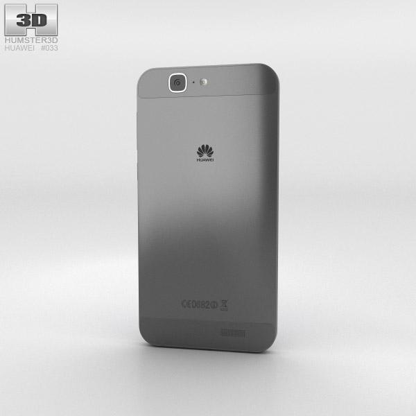 Huawei Ascend G7 Black 3d model
