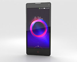 3D model of ZTE Nubia Z5S Mini White