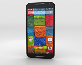 3D model of Motorola Moto X (2nd Gen) Black