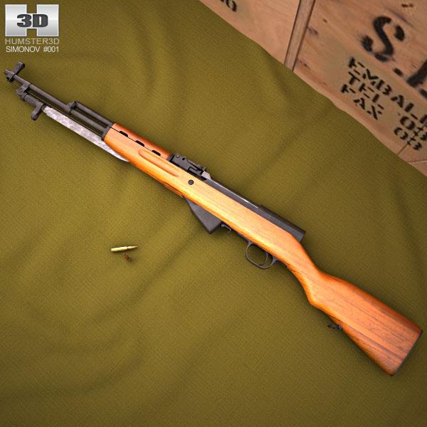 SKS 45 3D model
