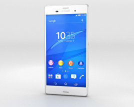 3D model of Sony Xperia Z3 White