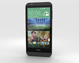 3D model of HTC Desire 510 Dark Grey