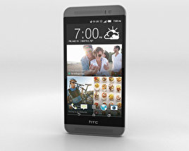 3D model of HTC One (E8) CDMA Misty Gray