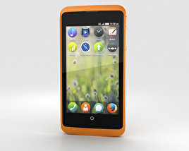 3D model of ZTE Open C Orange