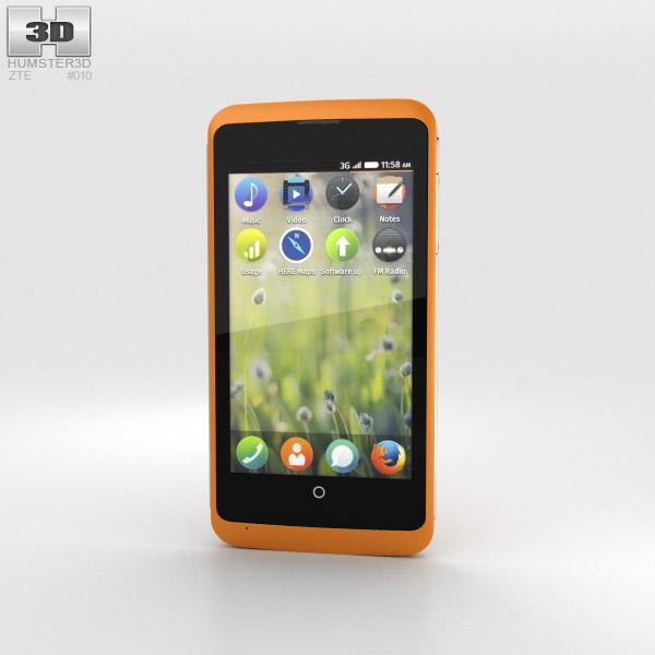 3D model of ZTE Open C Orange