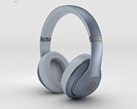 3D model of Beats by Dr. Dre Studio Over-Ear Headphones Metallic Sky