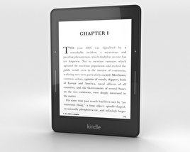 3D model of Amazon Kindle Voyage