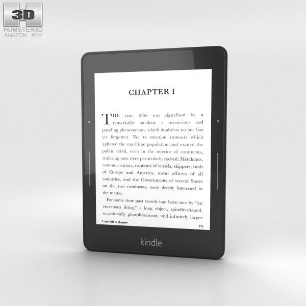 3D model of Amazon Kindle Voyage