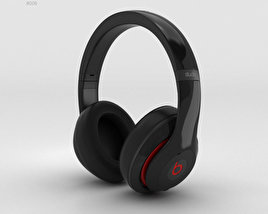 3D model of Beats by Dr. Dre Studio Over-Ear Headphones Black