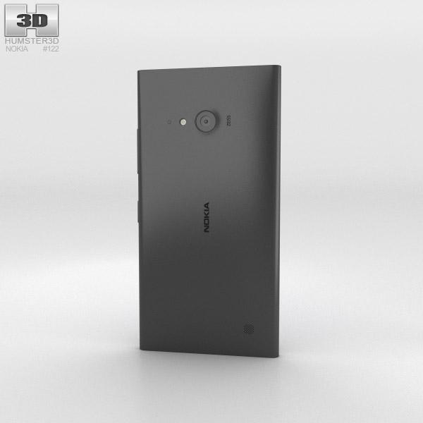 Nokia Lumia 730 Black 3d model
