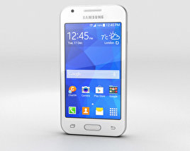 3D model of Samsung Galaxy Ace 4 Classic White