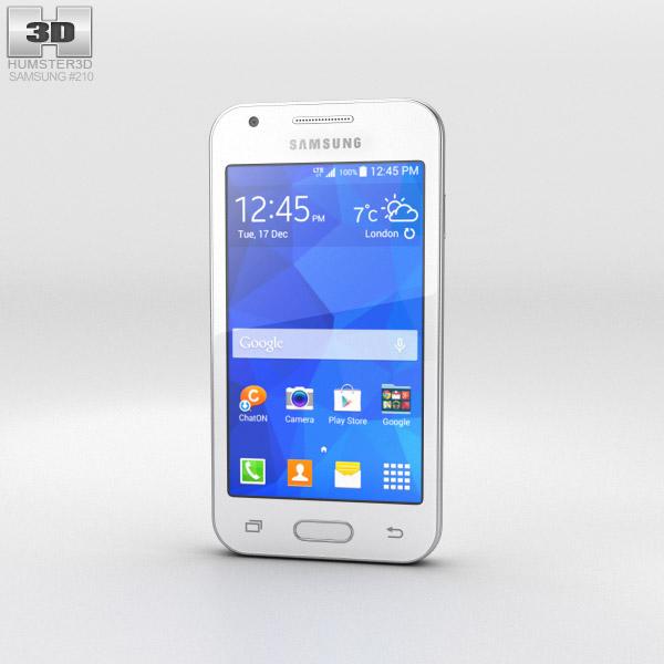 Samsung Galaxy Ace 4 Classic White 3d model