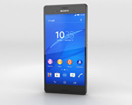 3D model of Sony Xperia Z3 Black
