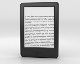 3D model of Amazon Kindle Touch Screen E-Reader