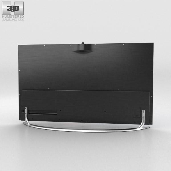 TV Samsung UN55F8000 3d model