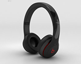 3D model of Beats by Dr. Dre Solo2 On-Ear Headphones Black