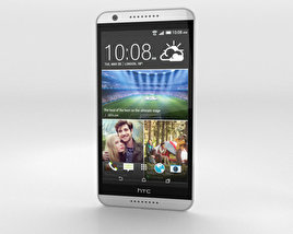3D model of HTC Desire 820 Marble White