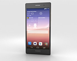 3D model of Huawei Ascend P7 Sapphire Edition