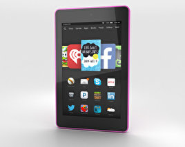 3D model of Amazon Fire HD 6 Magenta