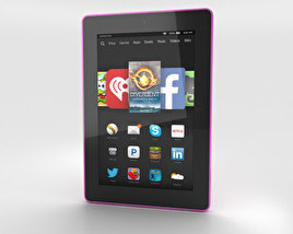 3D model of Amazon Fire HD 7 Magenta